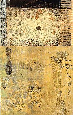 Eva Isaksen - Works on Canvas - Silence I