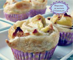 cups hojaldre manzana : via MIBLOG