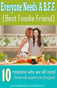 Sammi is my BFF, and we absolutely love the benefits! Our food lives have become so intertwined that we have forgotten what it was like before we started sharing each other's food burdens. Rarely does a week pass where we aren't exchanging food, sharing recipes, or discussing our food future. -Sarah groundedandsurrounded.com