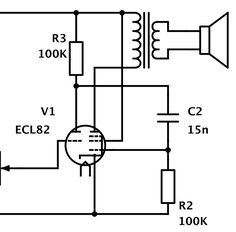 direct coupled 6v6 cathode follower tube amp schematic sound in 2019 valve amplifier vacuum. Black Bedroom Furniture Sets. Home Design Ideas