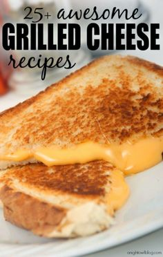 Awesome Grilled Cheese Recipes Are you a fan of the grilled cheese sandwich? Then you're going to LOVE these Awesome Grilled Cheese Recipes! Think Food, I Love Food, Good Food, Yummy Food, Tostadas, Tacos, Great Recipes, Favorite Recipes, Top Recipes