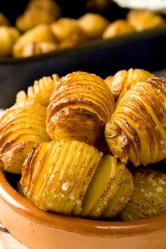 Here, blogger and cookbook author Donal Skehan shares a nifty way to cook potatoes that'll have dinner guests oohing and ahhing. Photo: Donal Skehan By Donal Skehan I came across the recipe for Hasselback potatoes when I was younger and they are so visually appealing that I had to make them. The traditional