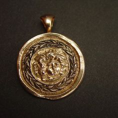 Shield of Medusa | Protection- Necklace