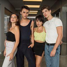 Élite Movies And Series, Tv Series, Elite 4, Carla Diaz, Manu Rios, Vetement Fashion, Netflix Originals, The Originals, Best Bud