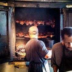Chef Explorer KC - L.'s Bar-B-Q has some of the most authentic KC ribs there is. Royals fans pack in so call before. Try the shrimp. Bar B Q, Ribs, Kansas City, Royals, Shrimp, Explore, Royalty, Pork Ribs, Rib Roast