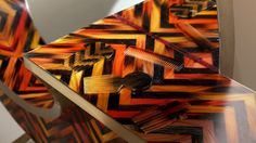 "Studio Swine's ""Hair Highway."" #designmiamibasel #design #furniture"