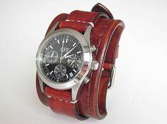 leon / Dámske kožené hodinky GFF