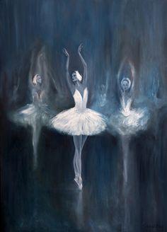 Ballerina. Swan Lake by Salavat Fidai
