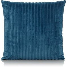 Bring a little cosy texture to your space with this super soft jumbo cord cushion from George Home. Stylish and perfect for snuggling, it's a bold splash of . Blue And Gold Bedroom, Blue Gold, Teal, Bungalow Renovation, Color Splash, Cord, Cushions, Home And Garden, Throw Pillows