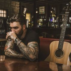 Super Music Tattoo For Guys Beards Ideas Kylie Scott, Bearded Tattooed Men, Bearded Men, Hot Tattooed Men, Inked Men, Men Photography, Beard Tattoo, Tattoo Man, Attractive Men