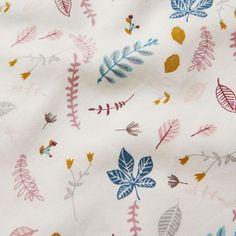 0910befd0ff8f6 Baby Bedding - Pressed Leaves Rose Duvet, Lille Pige Soveværelse, Girls  Bedroom, Bebe