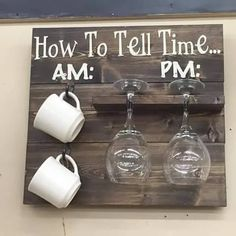 How to tell time plaque