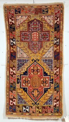 a Konya Rug, Central Anatolia, second half 19th century, 8 ft. 10 in. x 3 ft. 6 in.