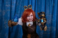 Hextech Annie cosplay (League of legends) by Quee