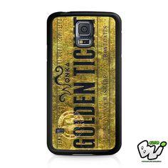 Willy Wonka Golden Ticket Samsung Galaxy S5 Case