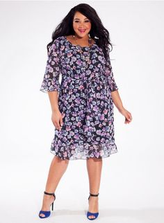 Hanna Dress in Violet Petal. IGIGI dress of the day. 60% off. I wish I needed dresses. $46.49 is just ridiculously low for a dress of this quality.