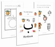 Little Salafi: Arabic Workbook for Preschoolers Arabic Alphabet Letters, Alphabet Letter Crafts, Montessori, Body Parts Preschool, Write Arabic, Learn Arabic Online, Arabic Lessons, Islam For Kids, Homeschool Curriculum