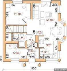Проекты домов с мансардой 9 на 9