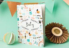 Baby Diary, Baby Book, Baby Journal Babybuch A5 von bär von pappe auf DaWanda.com