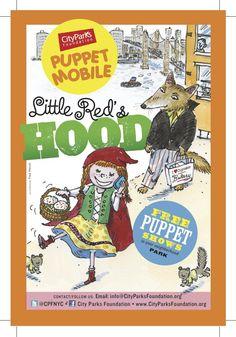 Free puppet show in Harlem of Little Red's Hood September 15