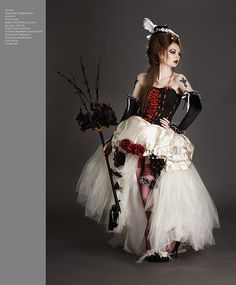 punk dresses | gothic wedding dresses