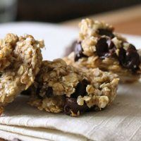 Skinny Chocolate Chip Breakfast Cookies