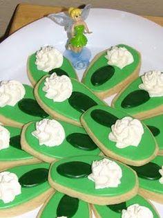 Tinkerbell birthday cookies