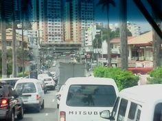 Ave. Justo Arosemena final, en el antiguo-moderno barrio Bella Vista, ciudad Panamá.