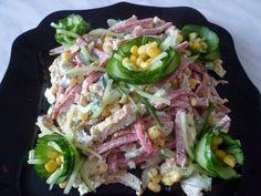 Лучшие кулинарные рецепты: Вкусный и простой салатик