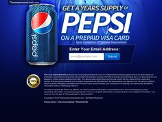 Get A Years Supply of Pepsi http://cpaempire.moremoneyeverywhere.com/