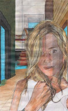 """Studio sulla coscienza n° 47. 2015 (eternal now)"" con la bellissima Diana Brera Molinaro"
