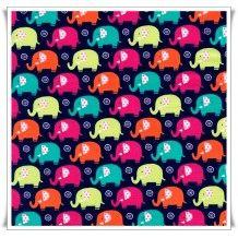 Tela mini elefantes
