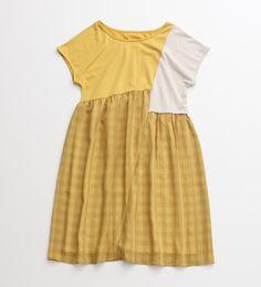 chambre de charme yellow dress // want.