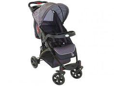 Carrinho de Bebê Passeio Galzerano Athena - Reclinável 3 Posições com Bandeja até 15kg