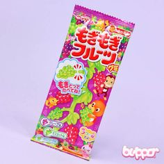 Meiji Gummy Candy - Grapevine Japanese Snacks, Japanese Candy, Japanese Sweets, Funny Candy, Valentine Day Gifts, Valentines, Soft Candy, Grape Soda, Kawaii Shop