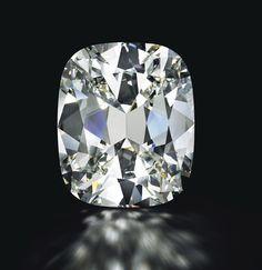 Diamant taille coussin de 80.73 carats Christie's New York