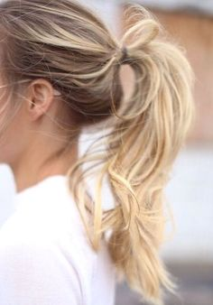 Pony tail inspiration.