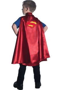 Your little hero will be ready to save the world in this Superman Deluxe Child's Halloween Cape. This adorable satin cape is adorned with the classic logo and is perfect to top off any Superman costume (sold separately). Superman Costumes, Boy Halloween Costumes, Boy Costumes, Super Hero Costumes, Halloween Kids, Children Costumes, Superman Cape, Superman Kids, Capes For Kids