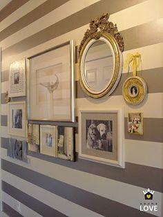 sadie + stella: Monday Musings: Gallery Wall