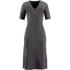 Ik vond dit op Beslist.nl: jurk in grijs - bonprix