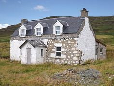Renovation Project Cottage for sale in BORVE on the Isle of Skye in North West Scotland