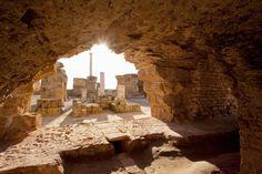 El sitio arqueológico de Cartago (Túnez)  La victoria de Roma en las guerras púnicas supuso la desaparición y destrucción de Cartago y la anexión de sus colonias y ciudades.