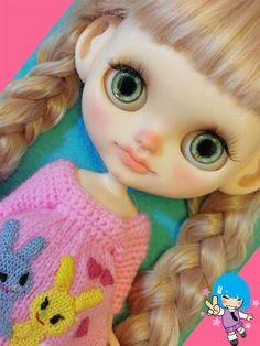 blythe, blythe doll, blythe dolls, custom blythe, neo blythe, cute blythe, kawaii, cute, rinkya, japan, collectibles