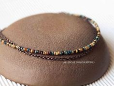 This is a gorgeous and simple handmade anklet using czech glass beads copper chain and copper findings. It measures 21 - 24 cm - Ankle Bracelets, Beaded Bracelets, Necklaces, Fine Jewelry, Jewelry Making, Czech Glass Beads, Bohemian Jewelry, Anklets, Girl Gifts