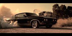 Blown Ford XB Coupe Burnout Car