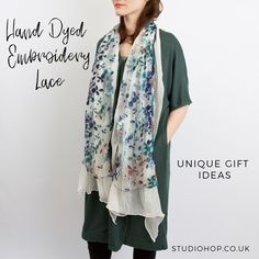 Our Lazy Daisy Lace Scarf is perfect for dressing up in this summer.
