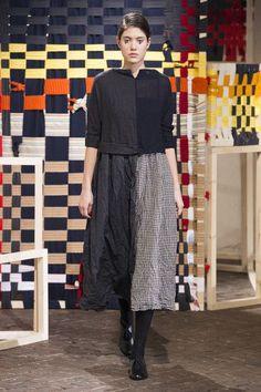 Daniela Gregis at Milan Fashion Week Fall 2017 - Runway Photos