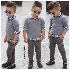 101 Trendy and Cute Toddler Boy Haircuts - Haarschnitt junge - Baby Hair Toddler Boy Fashion, Little Boy Fashion, Toddler Boy Outfits, Fashion Kids, Fashion Clothes, Toddler Boy Style, Trendy Fashion, Fashion Hair, Girl Fashion
