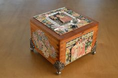 Image result for decorating cigar boxes
