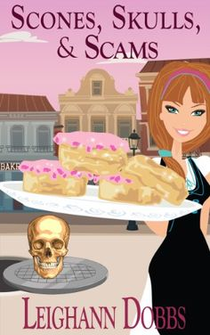 Scones, Skulls & Scams (Lexy Baker Cozy Mystery Series Book 8) by Leighann Dobbs http://www.amazon.com/dp/B00HPY1F62/ref=cm_sw_r_pi_dp_O-H0vb1W8JTG8